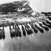 American ships anchored off Leyte, Philippine Islands, late 1944