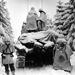 Battle of the Buldge; snowy conditions, near Herresbach, Belgium, Jan 1945