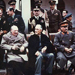 Churchill, Roosevelt, and Stalin at the Livadia Palace in Yalta, Ukraine, Feb 1945
