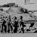 M4 Sherman tank and US 60th Infantry Regiment, Belgium, 1944